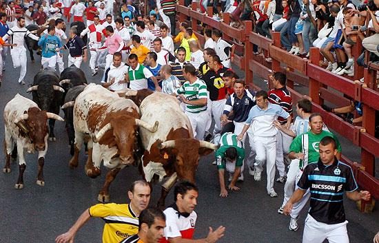 Nueve Heridos Leves En El Encierro De Las Fiestas De S S De Los