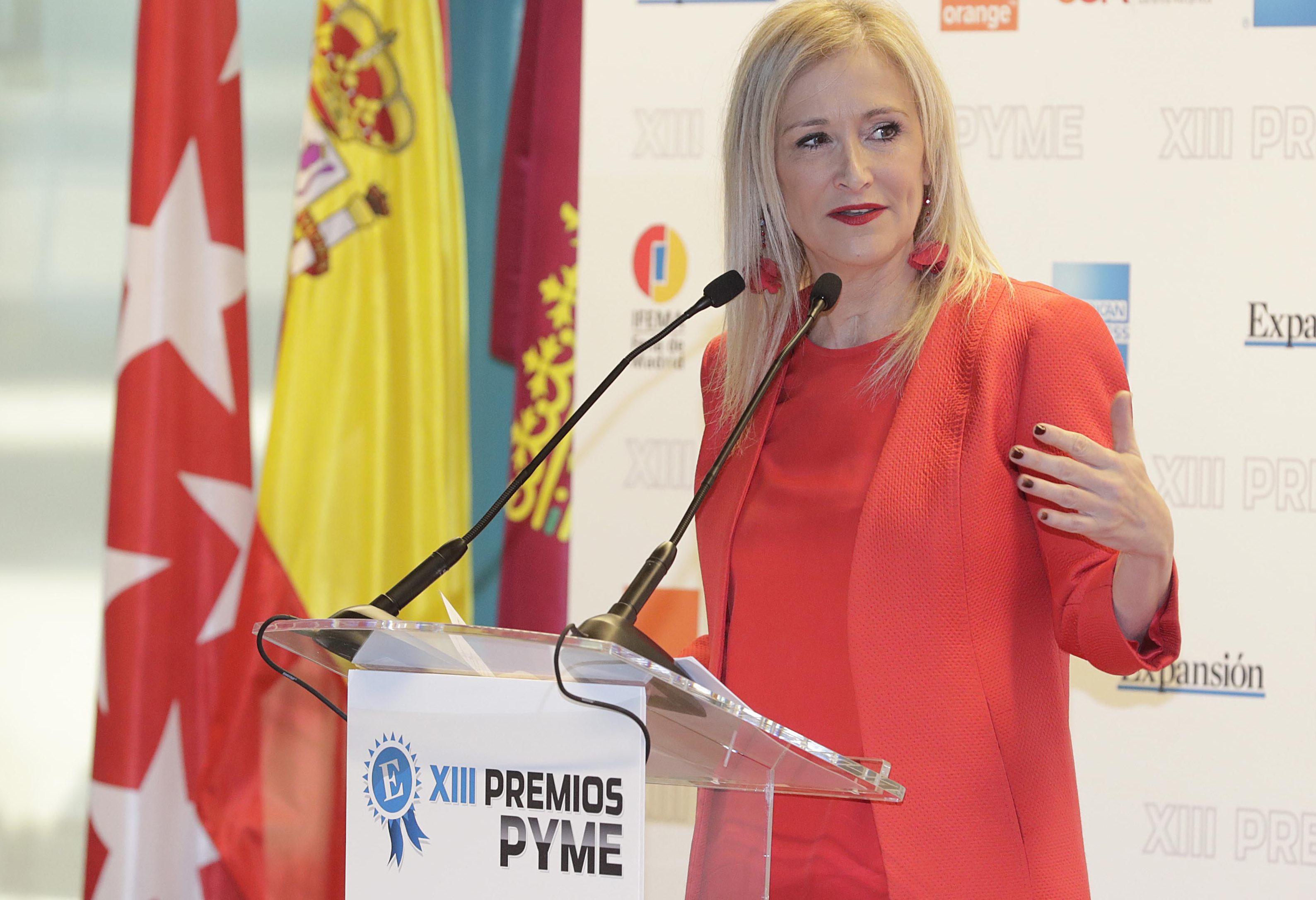 Cifuentes reafirma su compromiso de no subir los impuestos for Rea comunidad de madrid
