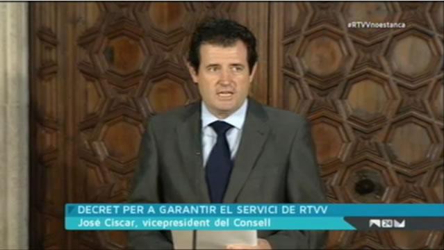 José Ciscar, vicepresidente del Consejo de la Generalitat Valenciana