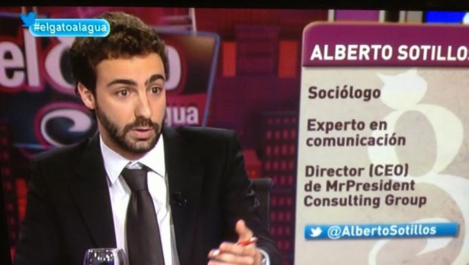 Alberto Sotillos no ha conseguido los avales exiguidos