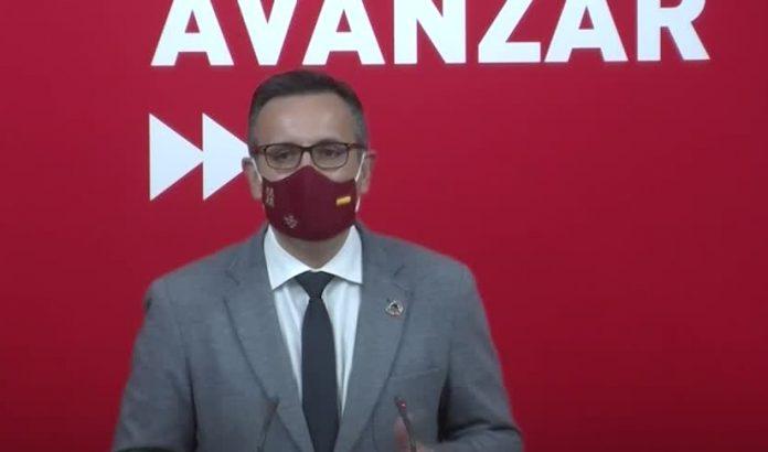 Diego Conesa, líder PSOE Murcia