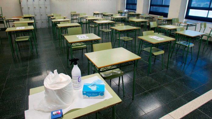 aulas vacías oposiciones