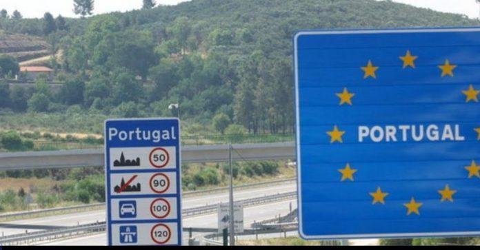frontera terrestre con Portugal